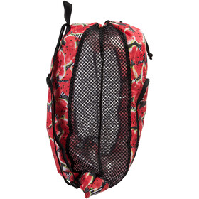 speedo Deluxe Ventilator Worek L, black/soft coral